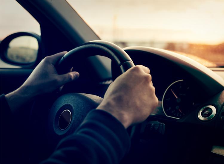 bil transport køre